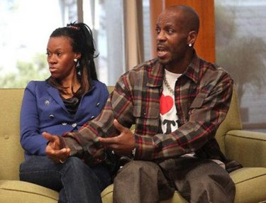 Tashera Simmons and DMX