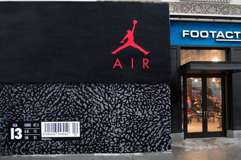 Jordan Brand's New York Flight 23 store.