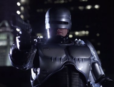 Scene From Weird 'RoboCop' Remake (NSFW)