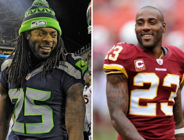 Richard Sherman and DeAngelo Hall