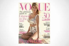 Kate Upton Covers British Vogue