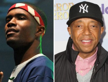 Frank Ocean and Russell Simmons