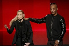 Iggy Azalea and T.I. at 2014 American Music Awards