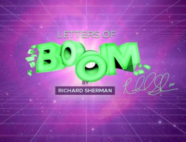 Letters Of Boom iOS app by Richard Sherman