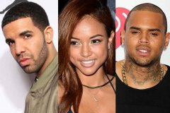 Drake, Karrueche and Chris Brown