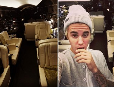 Justin Bieber gets private jet for Christmas