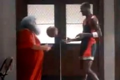 Michael Jordan vs. Santa Claus: Vintage Air Jordan Commercial