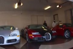 Floyd Mayweather's Chauffeur Shows Off His Car Collection