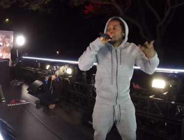 Reebok x Kendrick Lamar Sunset Blvd Performance (Video Recap)