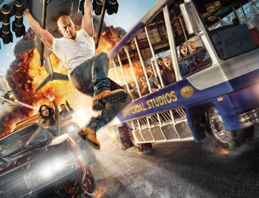 Universal Studios - Fast & Furious Supercharged Theme Park Ride