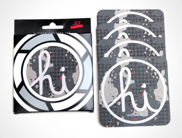 55mmprjct x In4mation Coaster Pack