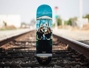 Mike Miller x Primitive 2pac 'Against The World' Skate Deck