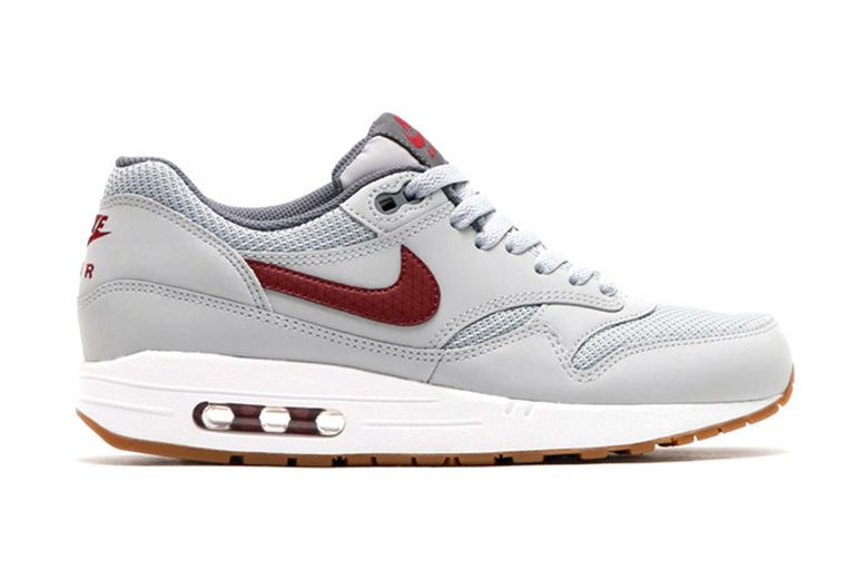 Nike Air Max 1 Essential - Wolf Grey/Team Red