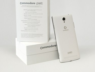 Commodore PET smartphone