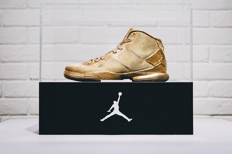 23 Karat Gold Jordan Super.Fly 4