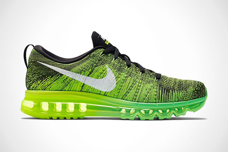 Nike Flyknit Air Max - Voltage Green