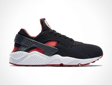 Nike Air Huarache - Black/University Red