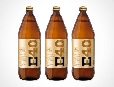 E-40 Introduces 40-Ounce Malt Liquor Beer