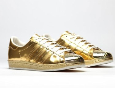 Adidas Originals Superstar 80s - Metallic Gold