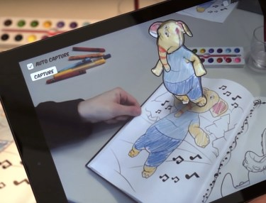 Disney Research App Helps Coloring Books Come To Life