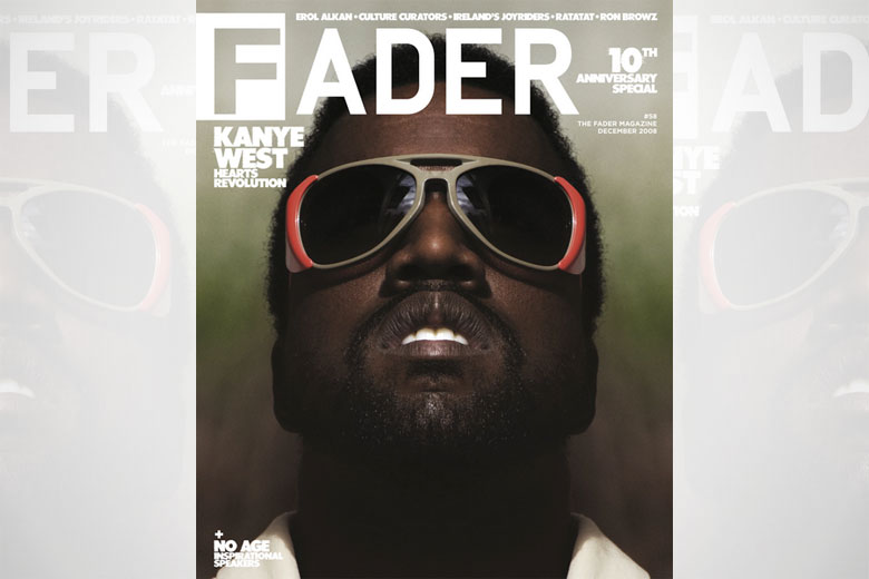 Kanye West - The FADER cover