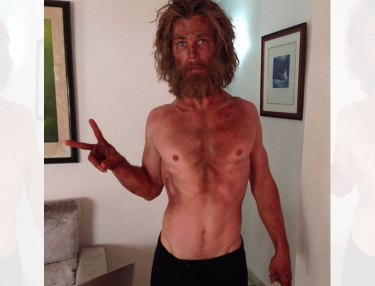 Chris Hemsworth for 'In the Heart of the Sea'