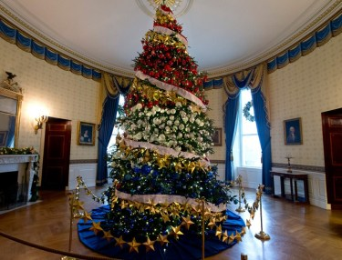 Take A Virtual Tour Of White House Holiday Decorations