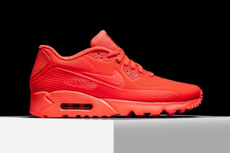 Nike Air Max 90 Ultra Moire - Bright Crimson