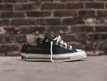 Converse Chuck Taylor All Star Ox Black Leather
