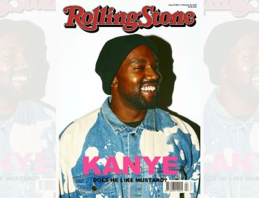Kanye West - Rolling Stone cover