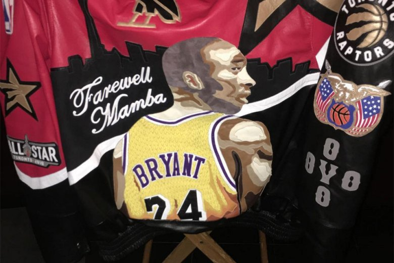 Drake Pays Tribute to Kobe Bryant with Custom Jacket