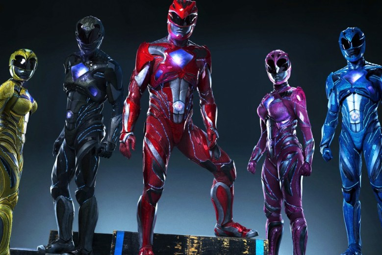 First Look at New Power Rangers Suits