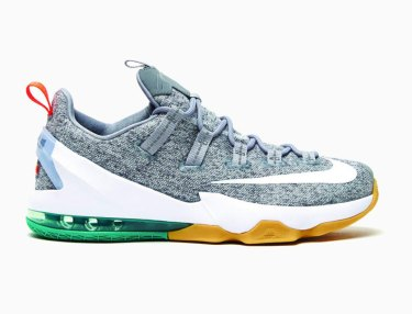 Nike LeBron 13 Low Heather Grey/Gum