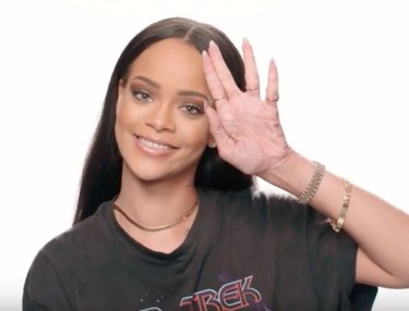 Rihanna is a Trekkie