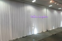 White wall drapes/Venue dressing Windsor, Wrasbury ...