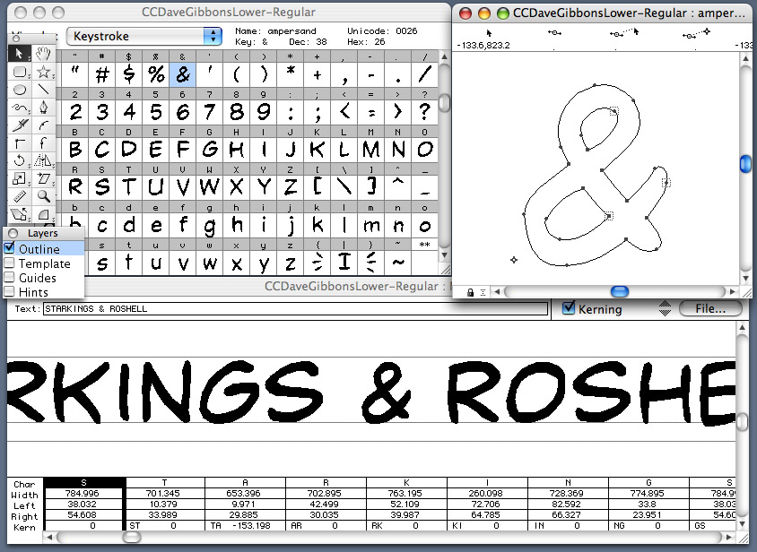 Eight Steps to Creating a Lettering Font \u2013 Balloon Tales