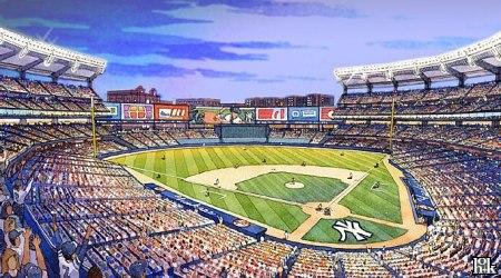 Ny Rangers 3d Wallpaper New Yankee Stadium