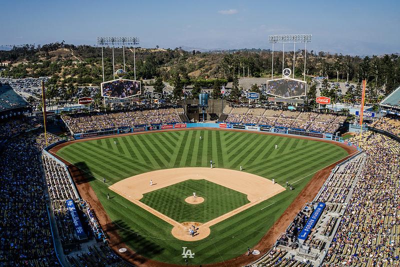 Dodger Stadium, Los Angeles Dodgers ballpark - Ballparks of Baseball - fresh baseball training blueprint