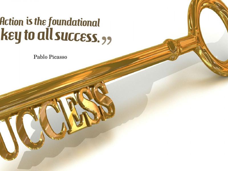 Key Of Success Quotes Wallpaper 10706 - Baltana