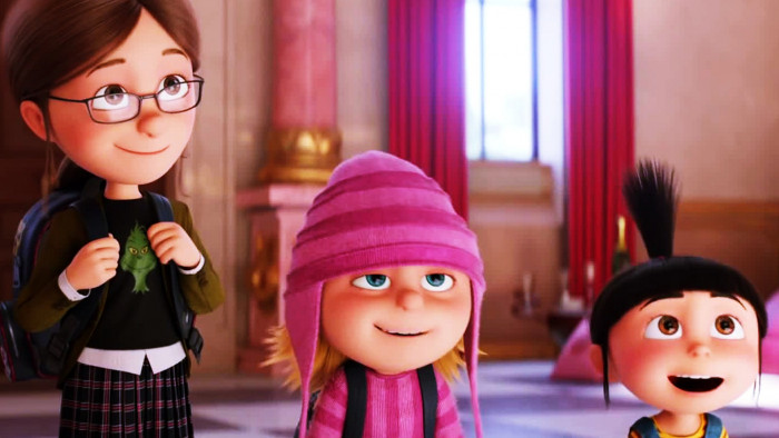 Cute Agnes Despicable Me Wallpaper Sisters In Despicable Me 3 Wallpaper 16206 Baltana