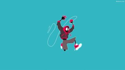 Spiderman Into The Spider Verse Desktop Wallpaper 29944 - Baltana