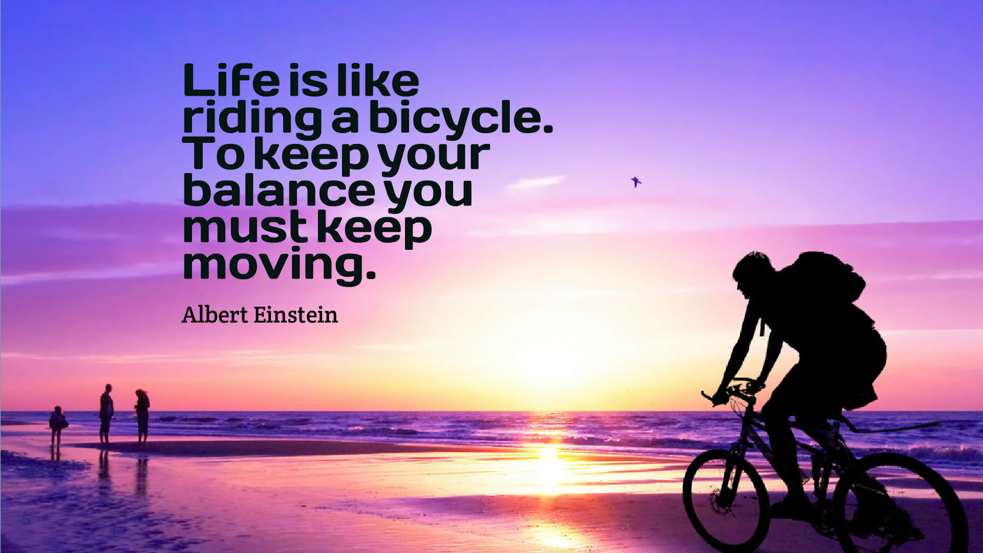 Quote Wallpaper For Sony Xperia Life Is A Riding Bicycle Quotes Wallpaper 10723 Baltana