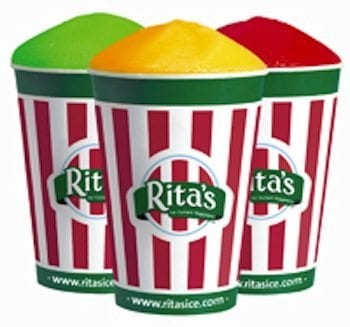 Free Italian Ice at Rita's