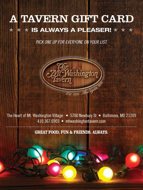 MWT Gift Card from Mt. Washington Tavern