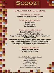 Scoozi Valentine Menu 2014-1