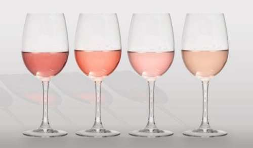rose-wine glasses