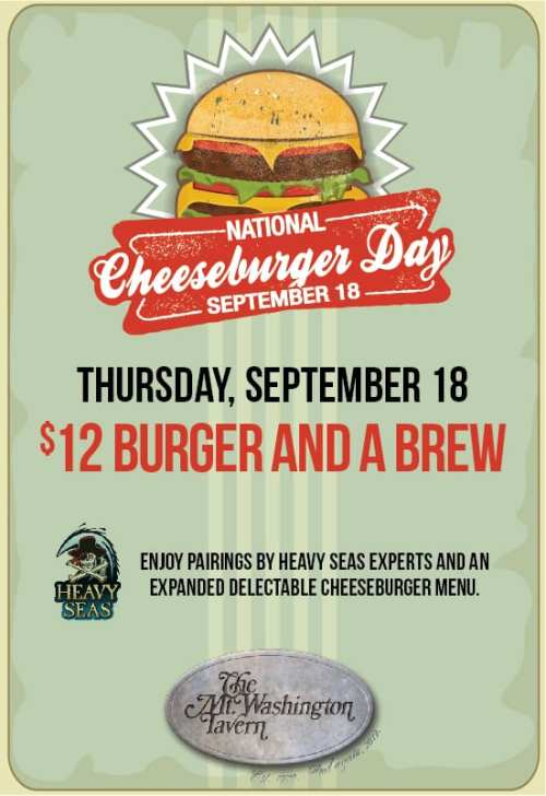 Cheeseburger Day