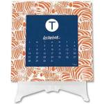 Dabney Lee Desk Calendar 2015, $28.00A desk calendar with a great Dabney Lee designs for each month. Personalized with name or monogram and it comes with a Lucite easel. This is a favorite with many customers – they reorder their calendar every year. - Pleasure of Your Company