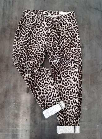 Rag & Bone / JEAN - Snow Leopard Boyfriend Jean $198 - Girl Next Door