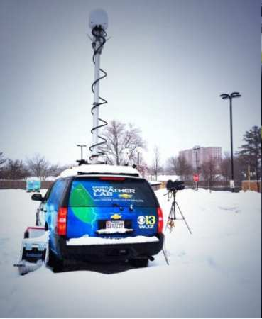 Scene of the crime: WJZ's Mobile Weather Lab